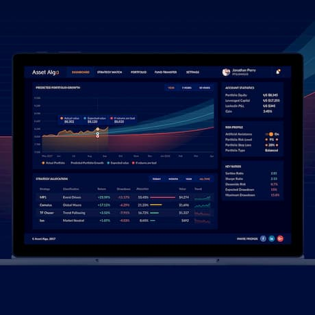 Asset Algo is AI-powered wealth management solution